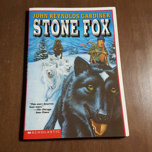 Stone Fox (John Reynolds Gardiner) -chapter