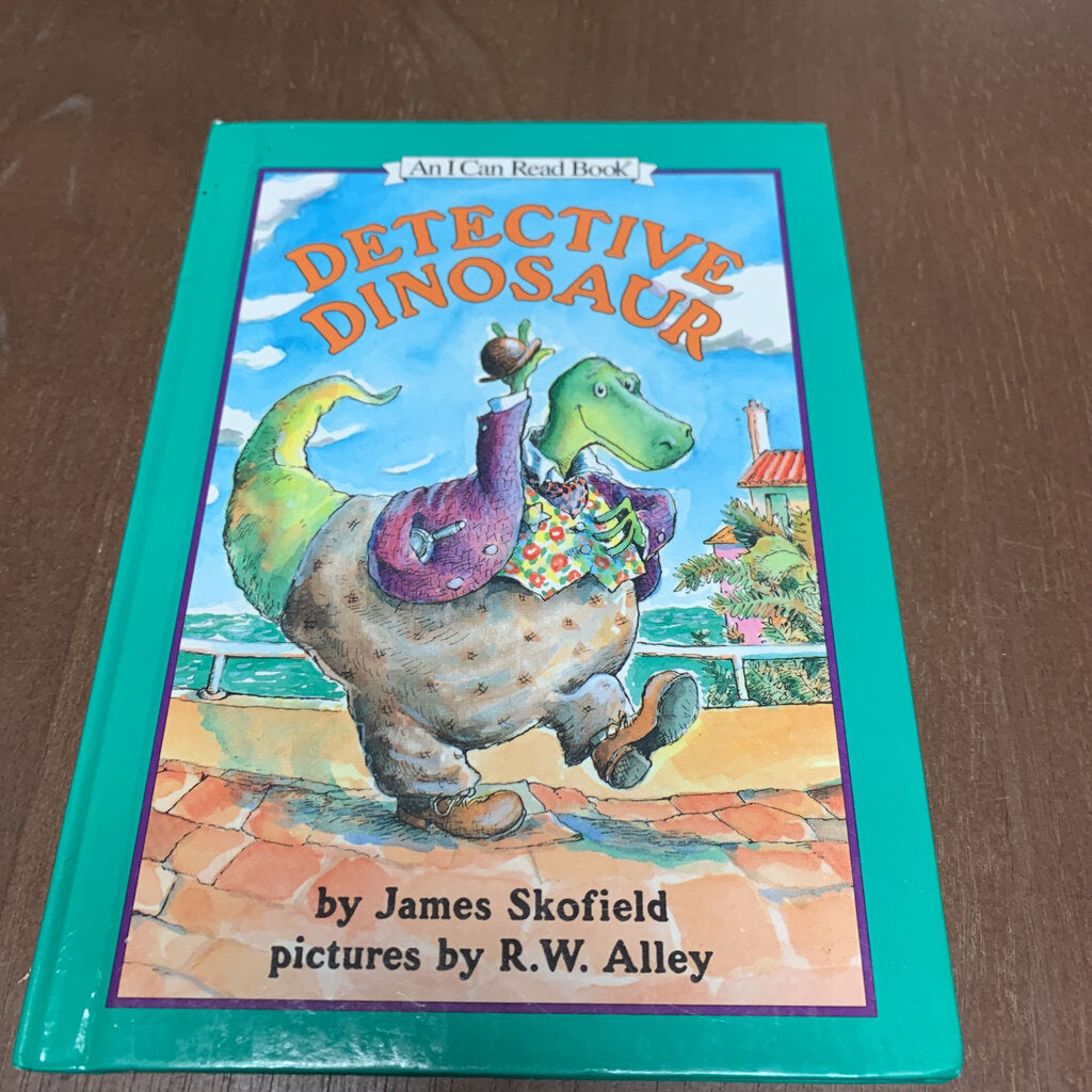 Detective dinosaur (An I can read)-reader