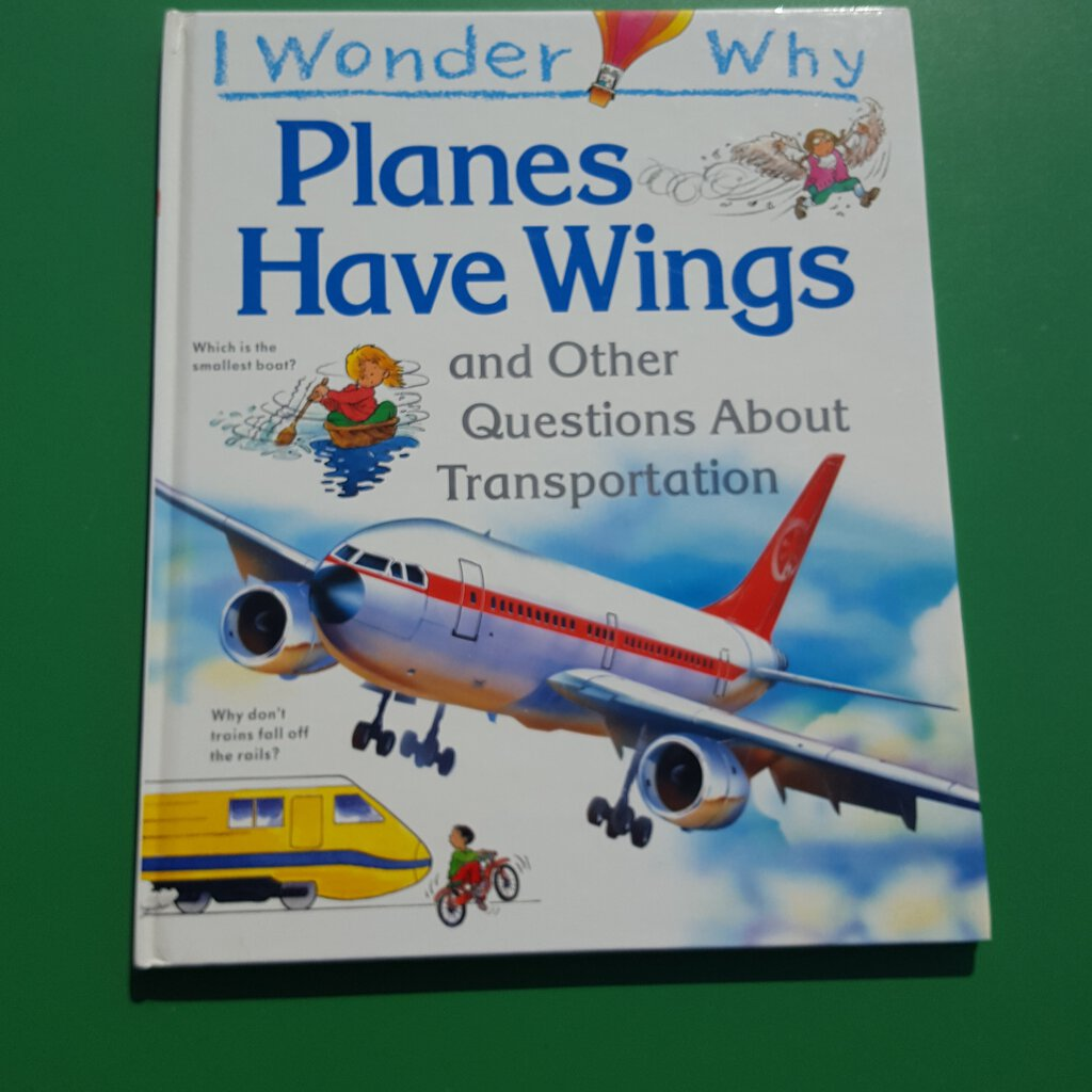 I wonder why planes have wings-Educational