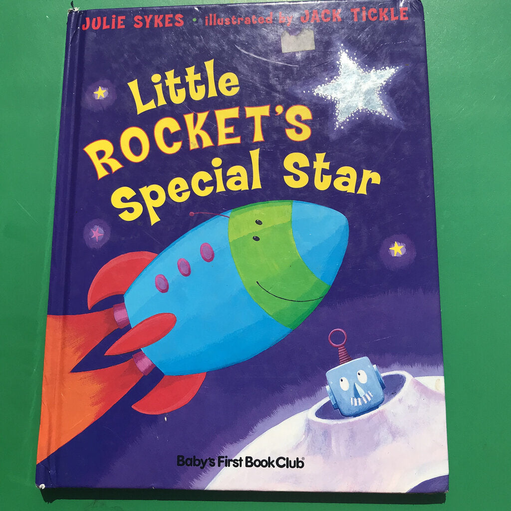 Little Rocket's Special Star-Hardcover