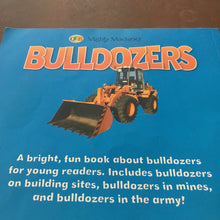 Load image into Gallery viewer, mighty machines bulldozers - educational