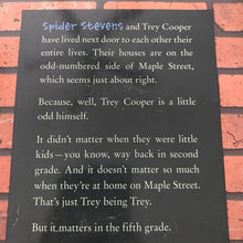 Load image into Gallery viewer, Along Came a Spider (James Preller) -chapter