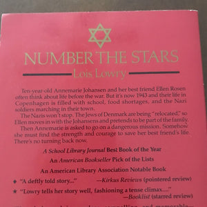 Number the Stars (Lois Lowry) -chapter