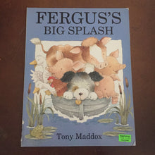 Load image into Gallery viewer, Fergus's big splash (Tony Maddox) - series