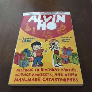 Allergic to Babies, Burglars, and other Bumps in the Night (Alvin Ho) (Lenore Look)-series