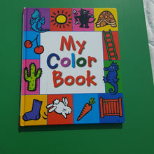 Load image into Gallery viewer, My color book-educational
