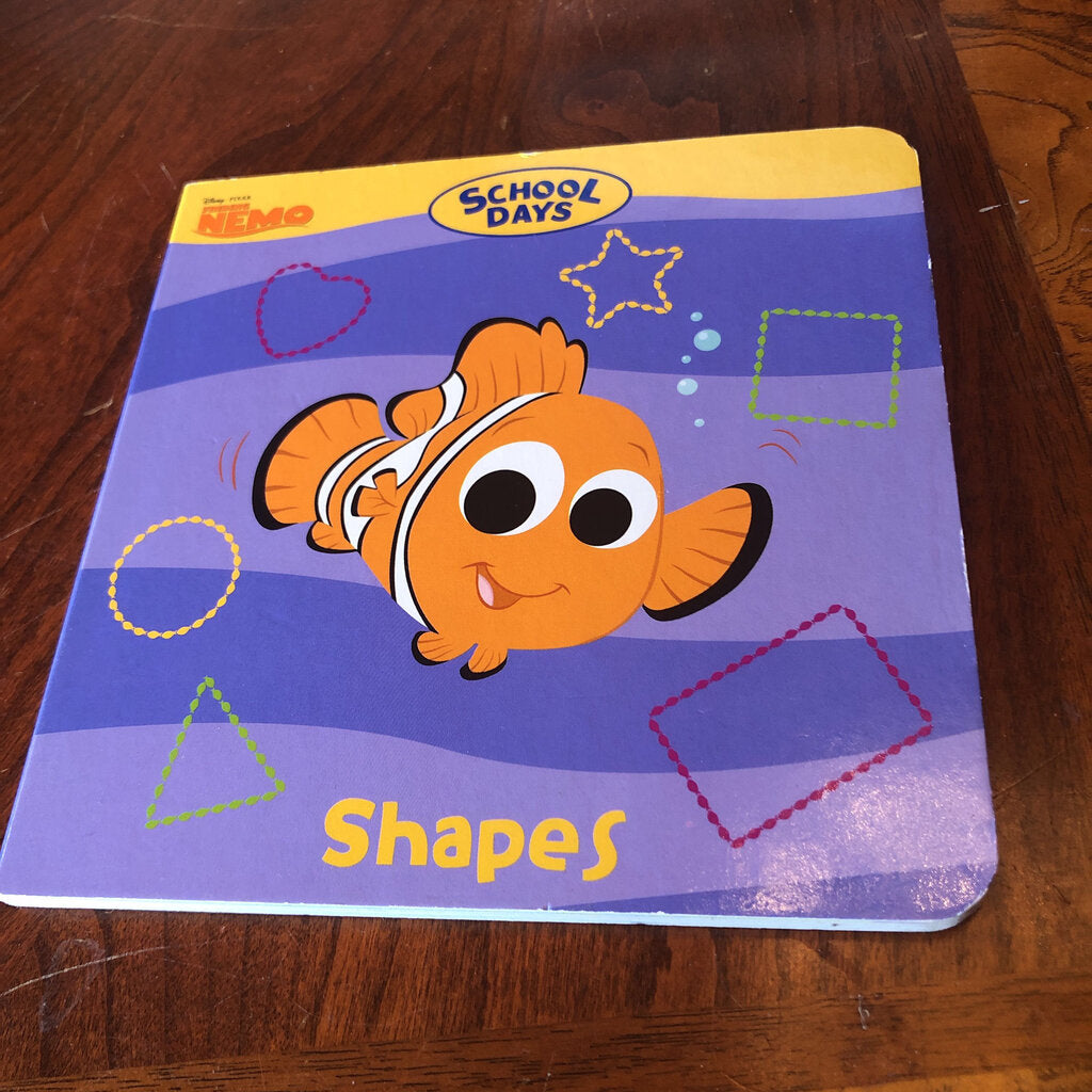 School Days: shapes -Finding Nemo (Melissa Arps) -Board