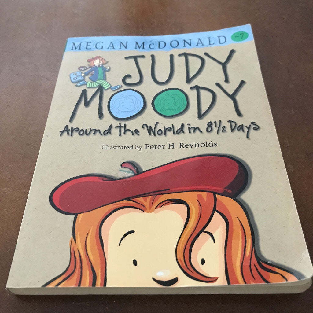 Around the World in 8 1/2 days (Judy Moody) (Megan McDonald) -series