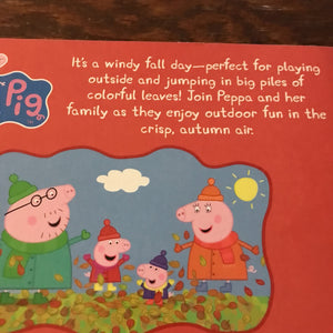 Peppa's windy fall day -character