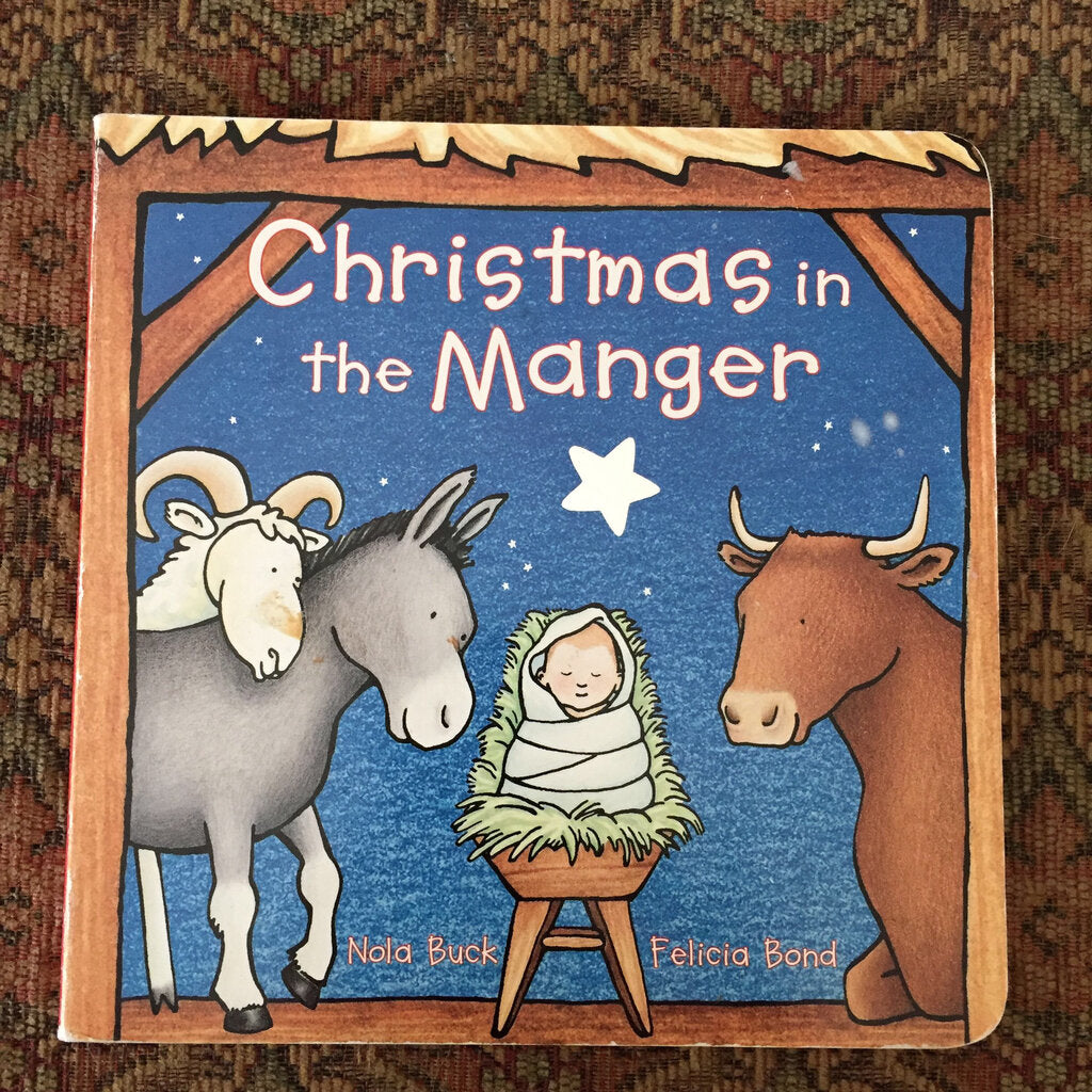 Christmas in the manger- religion