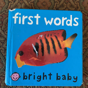 first words -board