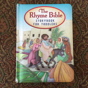 The Rhyme Bible Storybook for Toddlers -religion