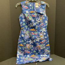 Load image into Gallery viewer, mickey & friends hawaiian dress