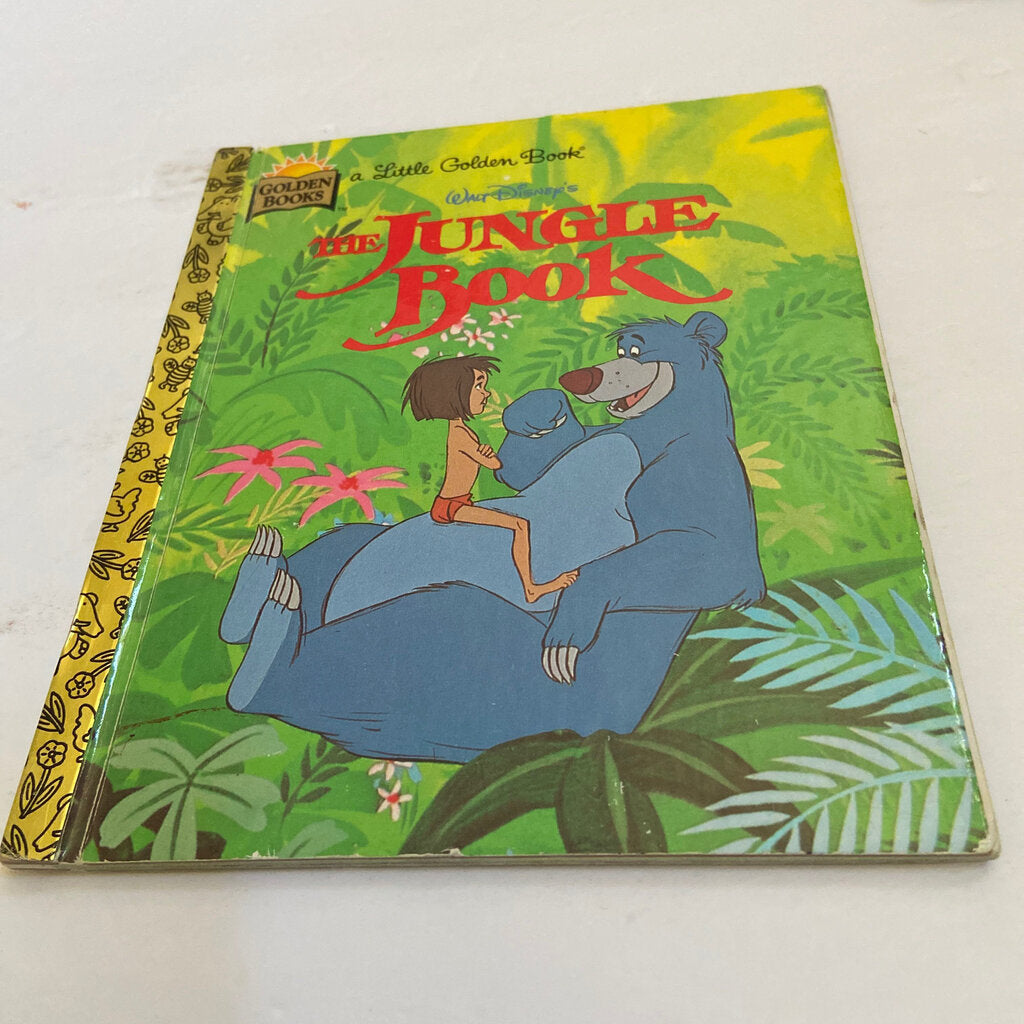 The Jungle Book -golden book