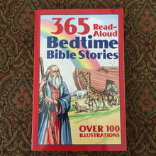 Load image into Gallery viewer, 365 Bedtime Bible Stories -religion
