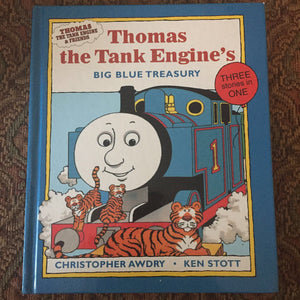 Thomas the Tank Engine's Big Blue Treasury -hardcover