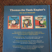 Load image into Gallery viewer, Thomas the Tank Engine's Big Blue Treasury -hardcover
