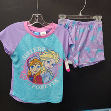 "Load image into Gallery viewer, ""sisters forever"" Elsa & Ana 2pc sleepwear"