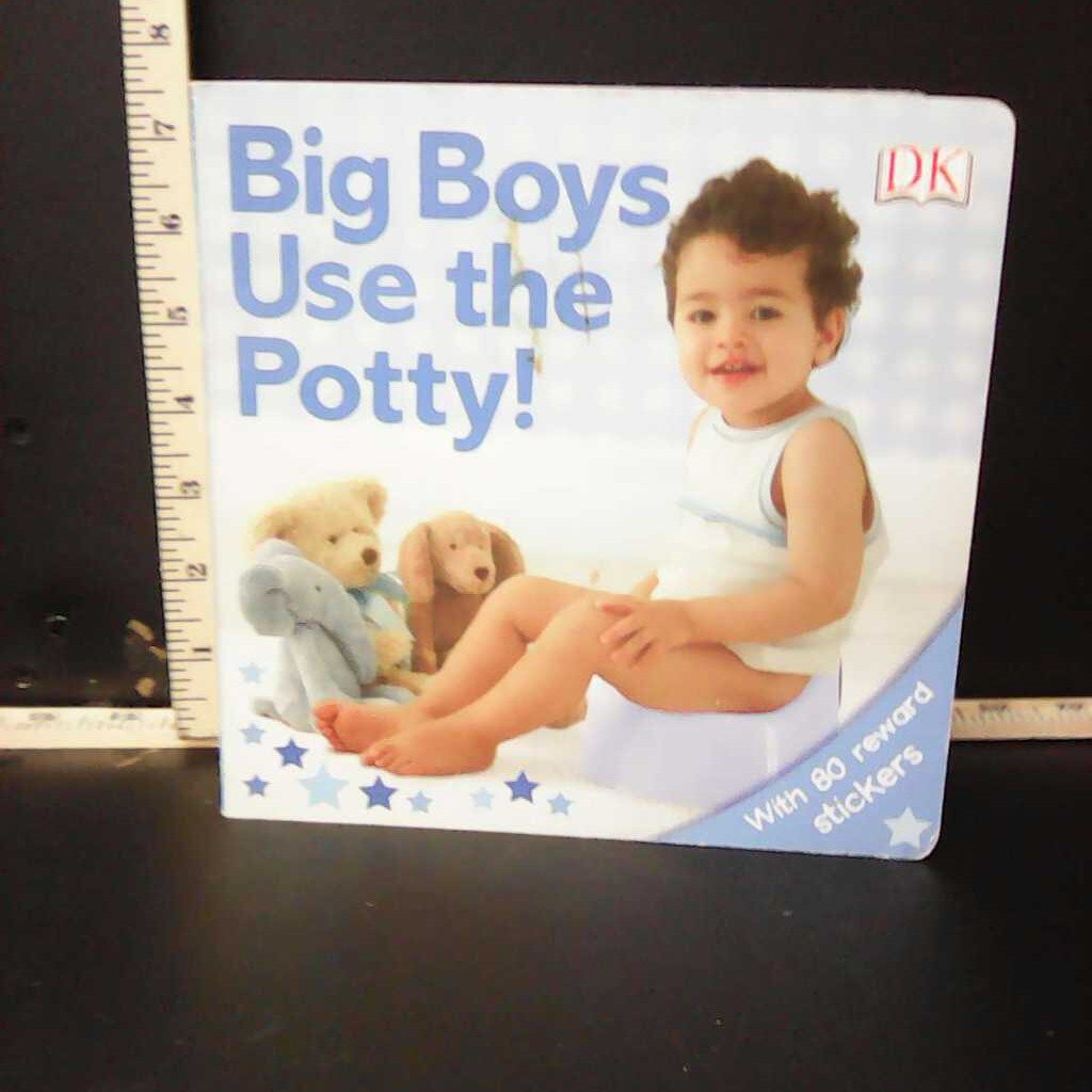 Big Boys Use the Potty! (Potty) -special