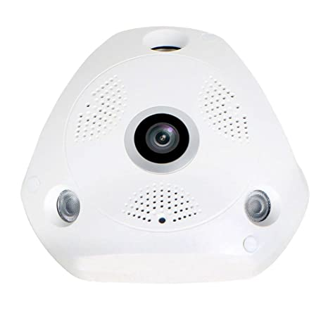 VR 1.3MP IP Panoramic Fisheye PTZ camera