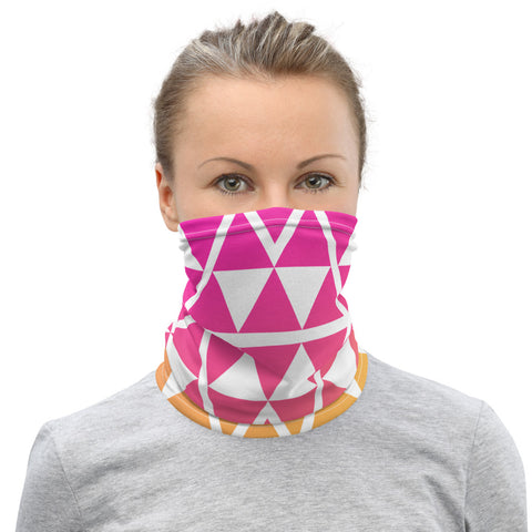 Geometric Pattern Mask - Coronavirus Impacts
