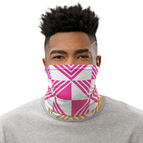 Geometric Summer Mask - Coronavirus Impacts