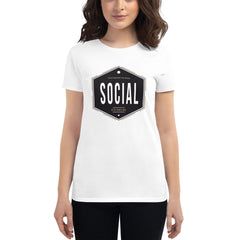 Social Distancing Since Before the Rona - Women's short sleeve t-shirt - Coronavirus Impacts