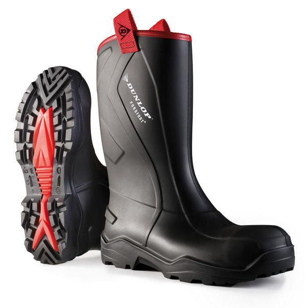 Dunlop Purofort + Rugged Rig Boots Full Safety