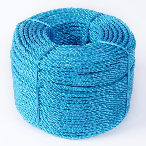 Blue Twisted Polypropylene Rope Per Metre