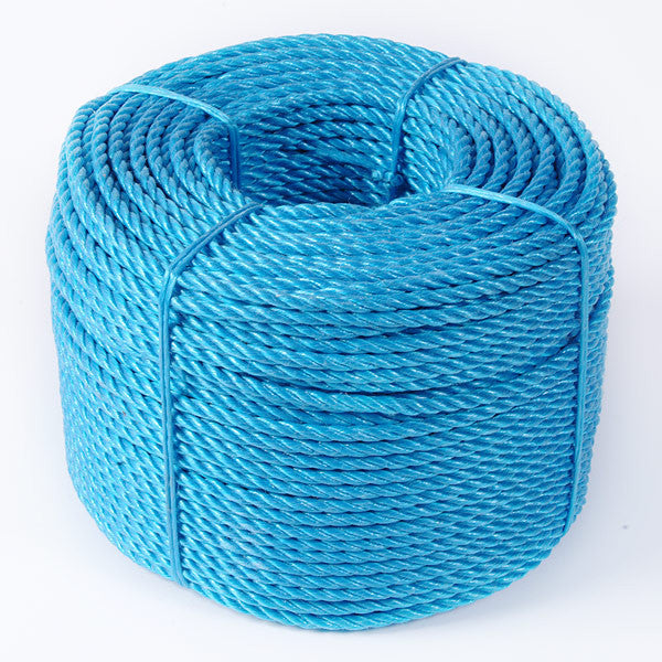 Blue Twisted Polypropylene Rope Coastal Nets Online Store