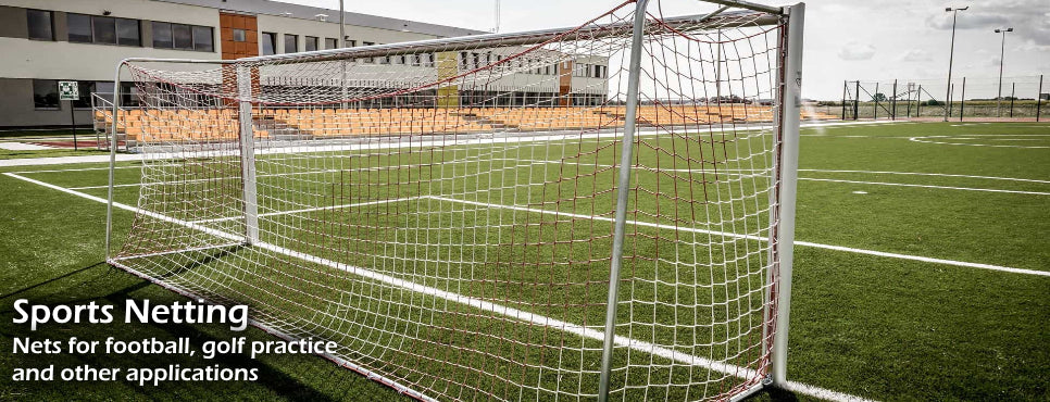 Sports netting. Football nets, golf nets