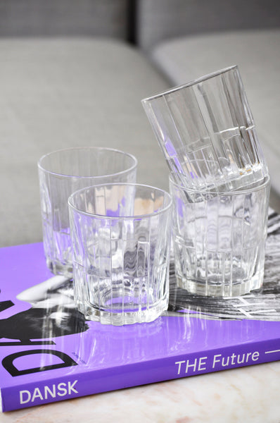 VINTAGE FRENCH DURALEX GLASS - SET OF FOUR