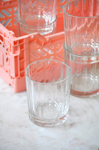 VINTAGE ITALIAN LINES GLASSES - SET OF FIVE