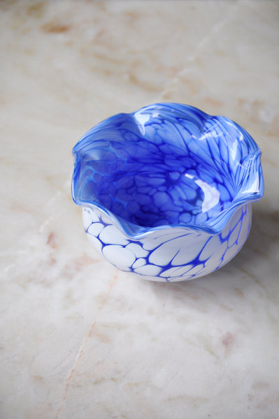 SPRECKLED GLASS BOWL