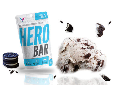 HERO Bar Cookies 'N Cream