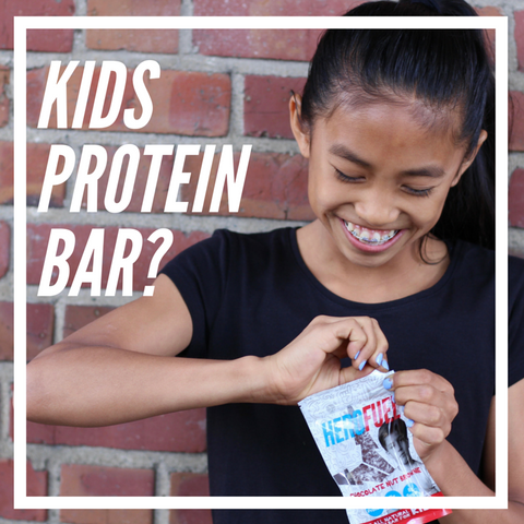 HEROFUEL: KIDS PROTEIN BAR
