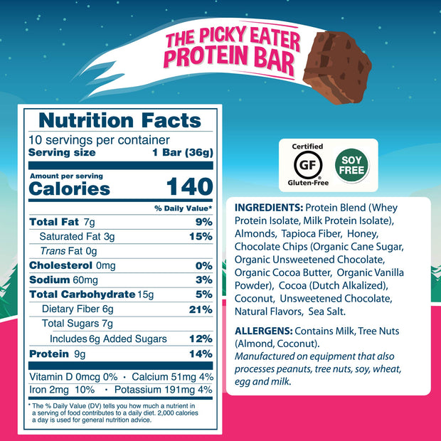 Picky Eater Trial Pack! (2 Bars)