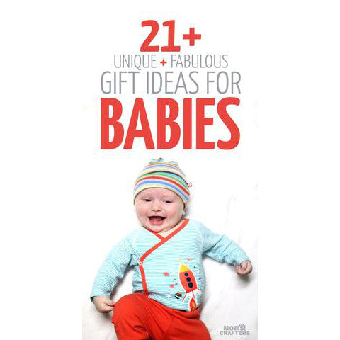 21+ Gift Ideas for Babies: Includes our babyprints collage frame
