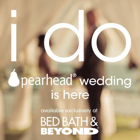 Pearhead launches new exclusive wedding line at Bed Bath & Beyond