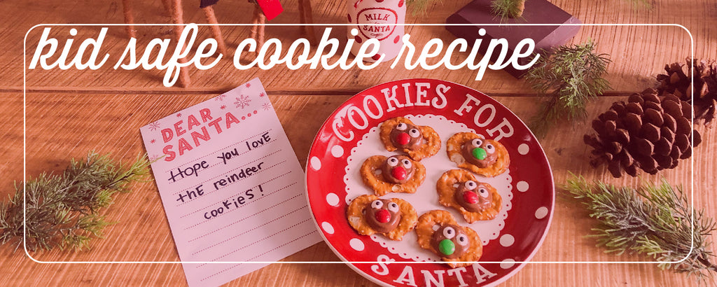 easy cookies for Santa, a recipe kids can help with!