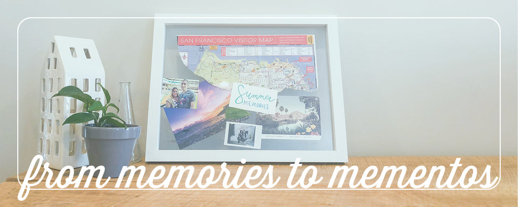 creative ways to turn memories into keepsakes