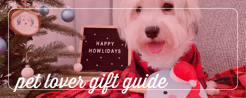 gifts for the pet lover: holiday pet gift guide