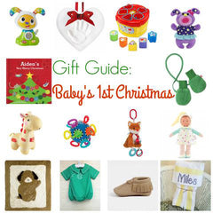 The Chirping Mom's best guide for baby's 1st christmas
