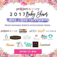 Project Nursery baby shower giveaway with Pearhead