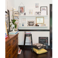 Project Nursery Features our All About Baby Chalkboard