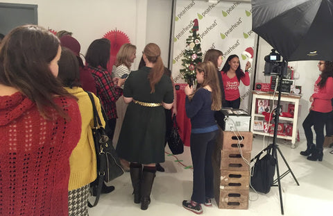 Pearhead at the MomTrends Holiday Soiree