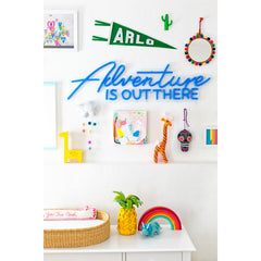 colorful nursery reveal