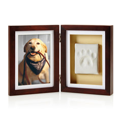 Pearhead's pawprints desk frame feature in pet business