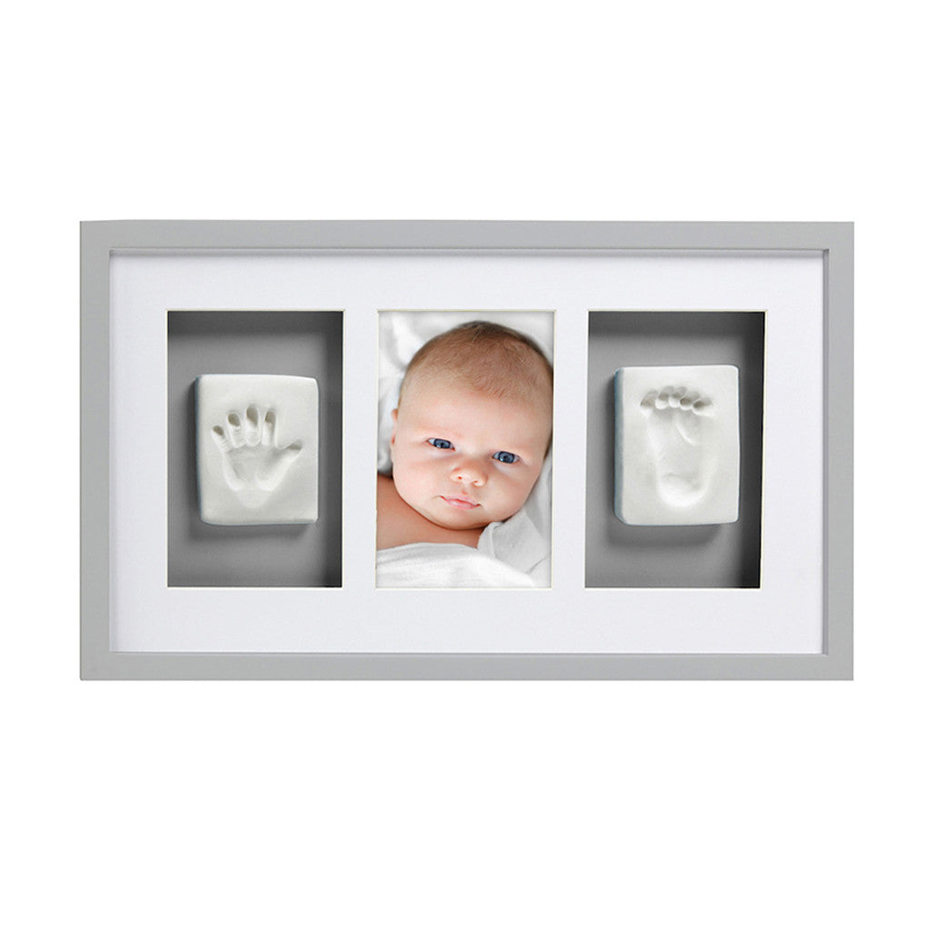 pearhead's babyprints deluxe wall frame