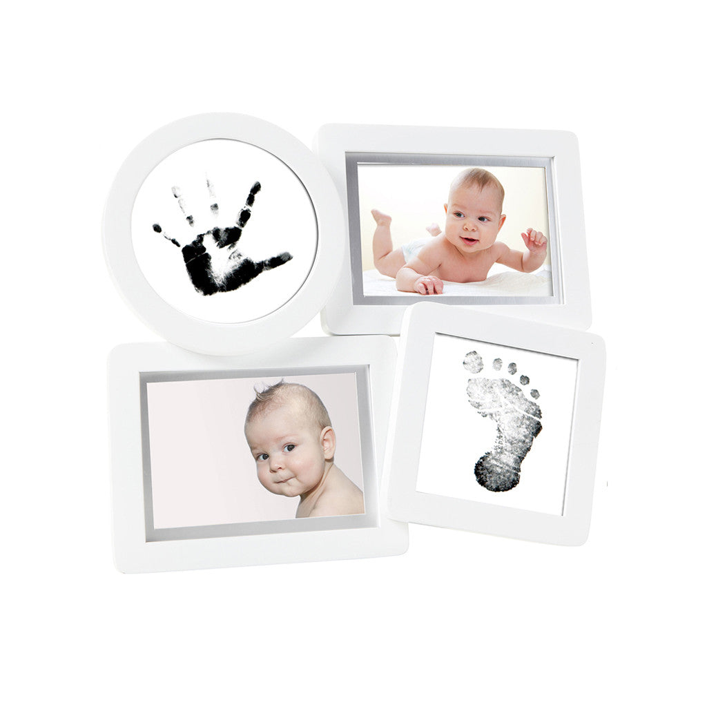 pearhead's babyprints collage frame